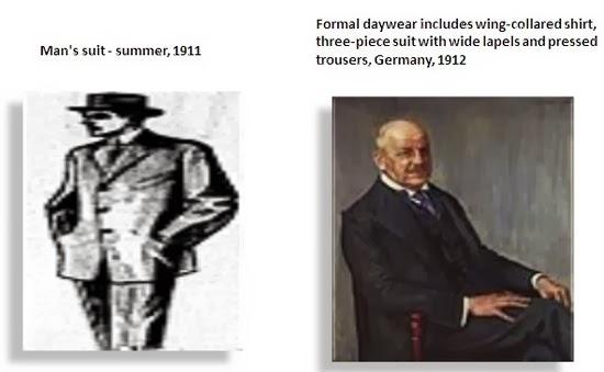 Mens suit 1911-1912