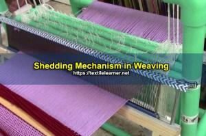 shedding mechanism in weaving