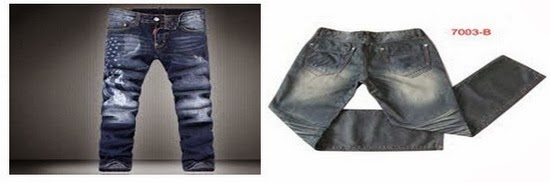 P.P. effect on Jeans