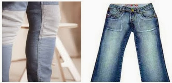 P.P. effects on jeans