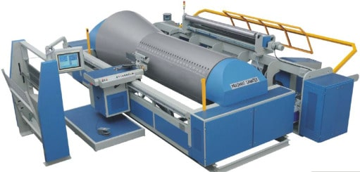 automated sectional warping machine