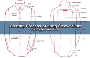 costing of long sleeve shirt
