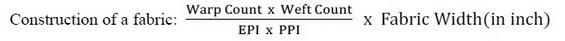Warping calculation