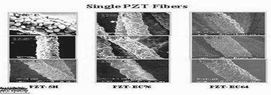single PZT fibers