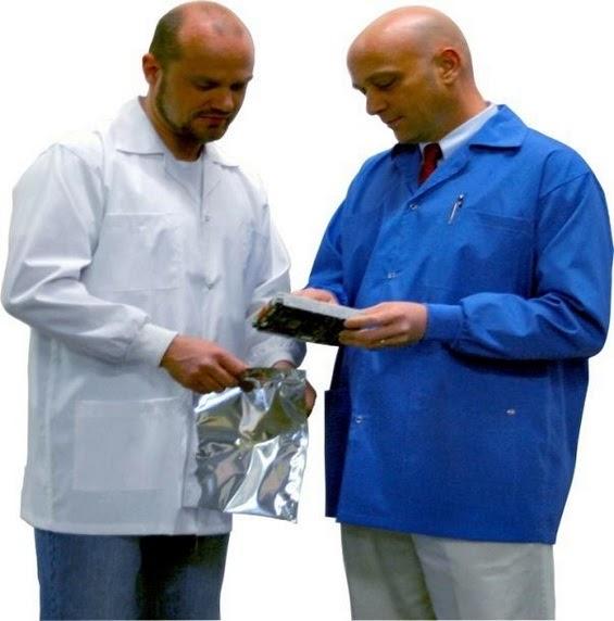 Anti-static garments