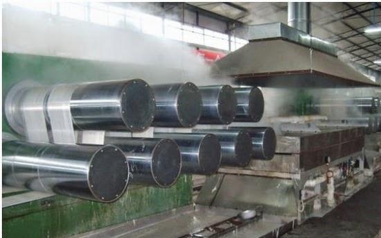 Polyester fiber manufacturing process