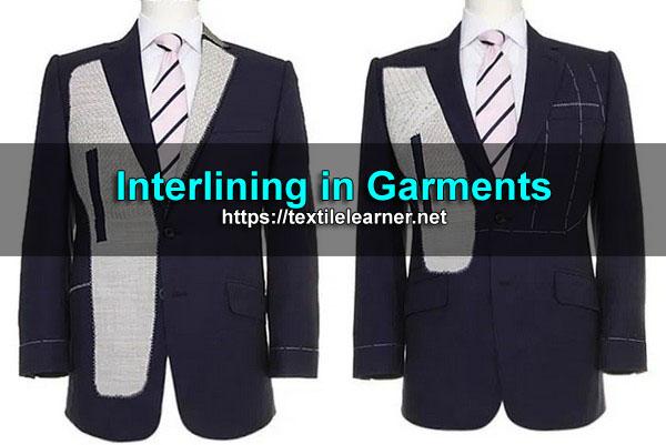 interlining in garments
