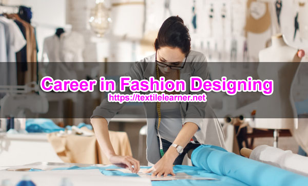 career in fashion designing