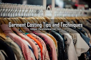 garment costing tips
