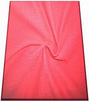 Structure of Slub Cotton Jersey Knit Fabric