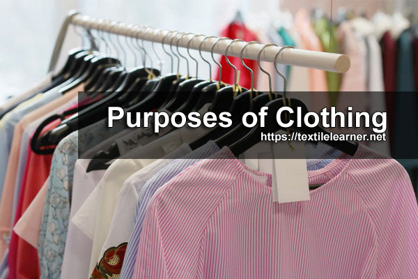 purposes of clothing