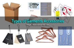 types of garment accessories