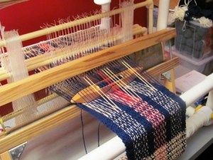 shed in weaving