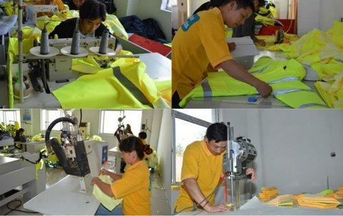 Garments sample development section