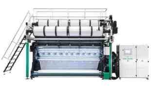 raschel warp knitting machine elements