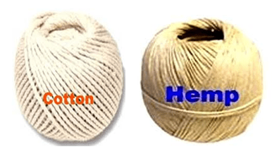 Materials used in macrame