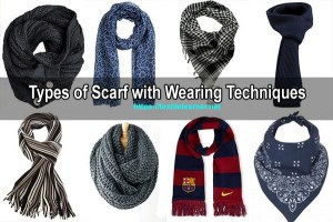 types of scarf