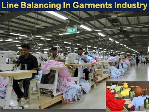 line balancing in garment industry