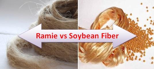 ramie and soybean fiber
