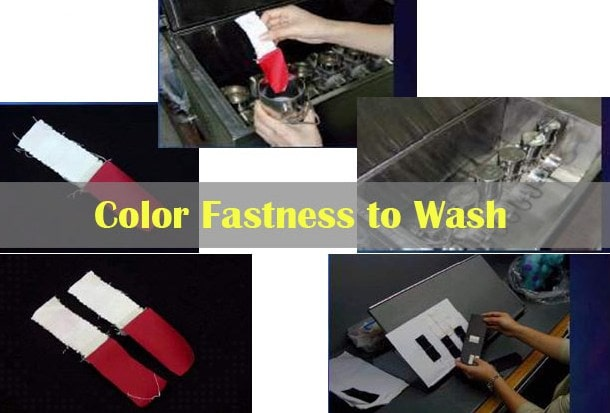 Color Fastness To Washing