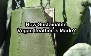 sustainable vegan leather