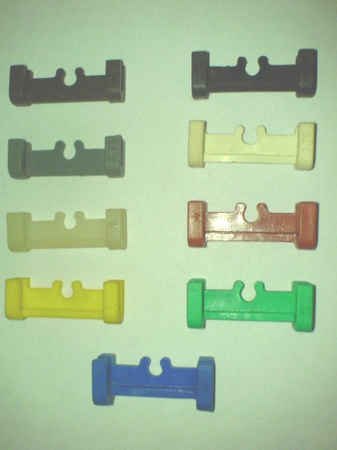 Different types of spacer used in ring frame