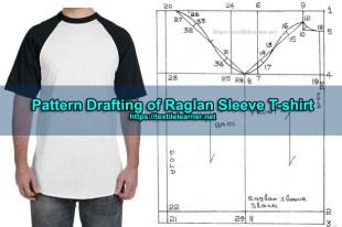 Drafting of Raglan Sleeve T-shirt