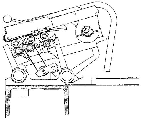 Spacer in cradle in Simplex