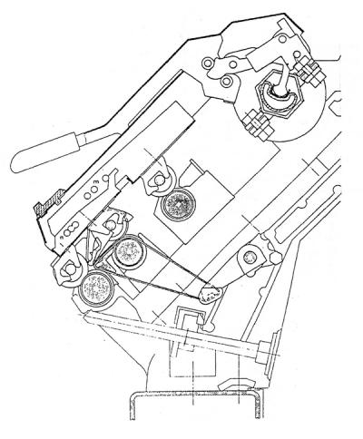 Spacer in cradle in Ring frame