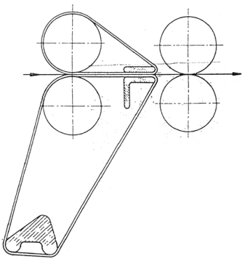 Spacer position in long bottom apron
