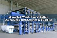 Determination of Strength & Weight Loss Due to Single Bath Scouring & Bleaching Action on Cotton