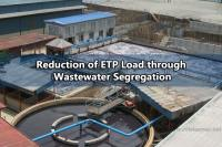 Reduction of ETP Load through Wastewater Segregation