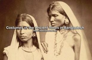 ancient costumes in Bangladesh
