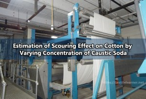 scouring effect on cotton