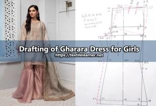 Drafting of gharara
