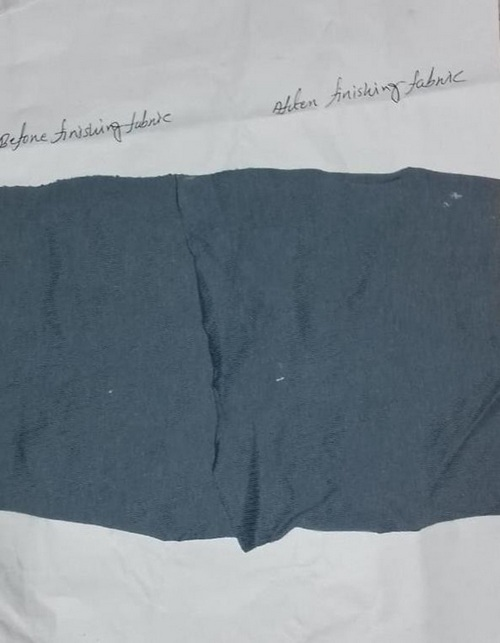 Hydrophilic Softener Tested Sample.
