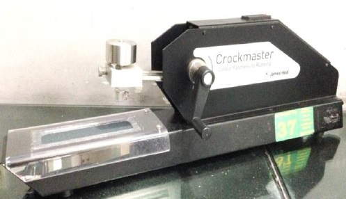 Crockmaster (For Color Fastness to Rubbing)