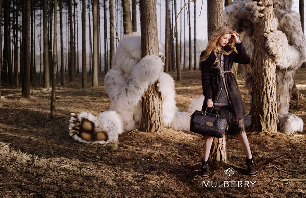 fashion advertising by Mulberry