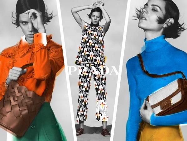 fashion advertising by prada
