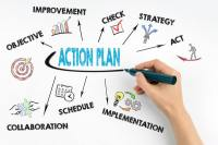 Time and Action Plan for Garment Merchandising