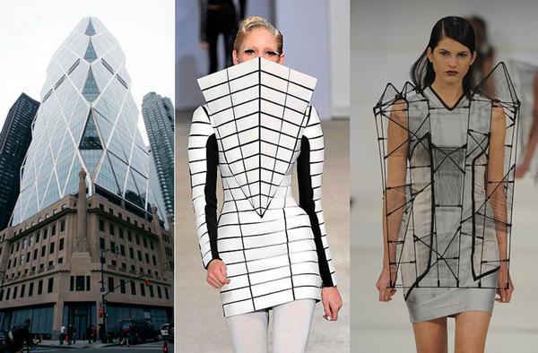 Architectural fashion design