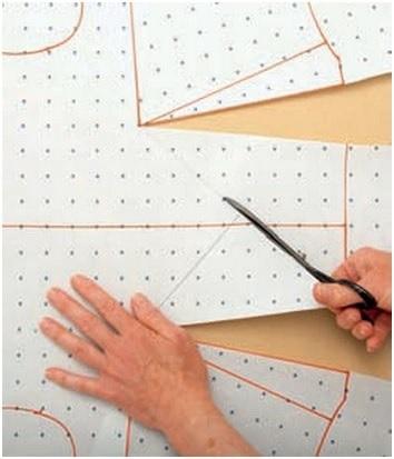 Asymmetric darts step-4