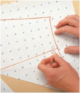 Asymmetric darts step-5