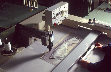Automation in garment
