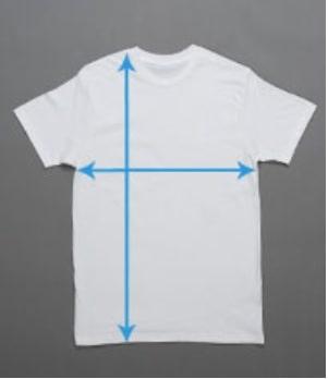 Sample figure of Short Sleeve T-shirt
