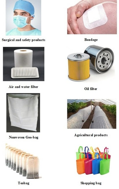 nonwoven technical textile products