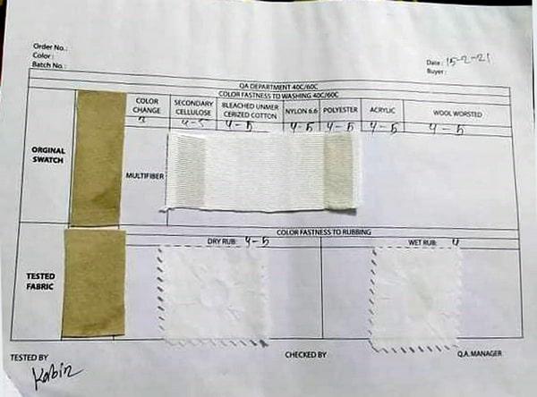 sample 5 report