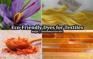 eco-friendly dyes