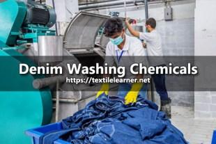 Denim Washing Chemicals