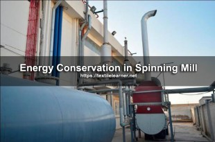 Energy Conservation in Modern Spinning Mills